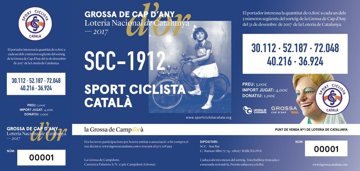 Participacions de la Grossa Sport Ciclista Català