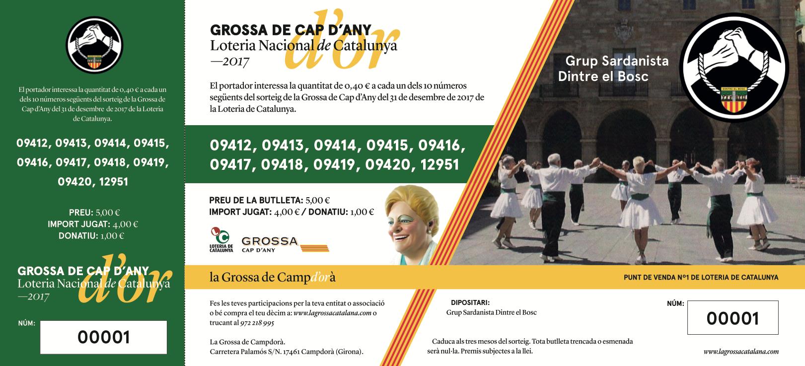 Participacions de SARDANISTA DINTRE EL BOSC