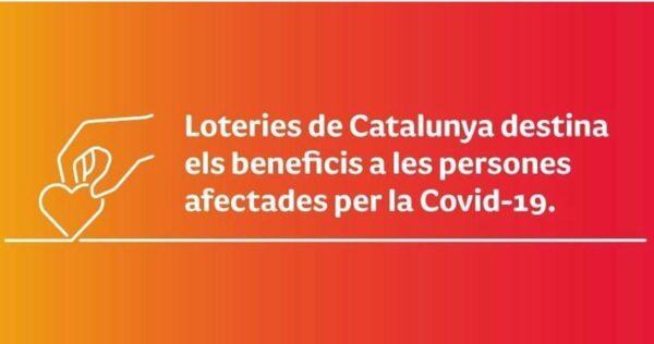 Loteries destina els beneficis al Covid-19