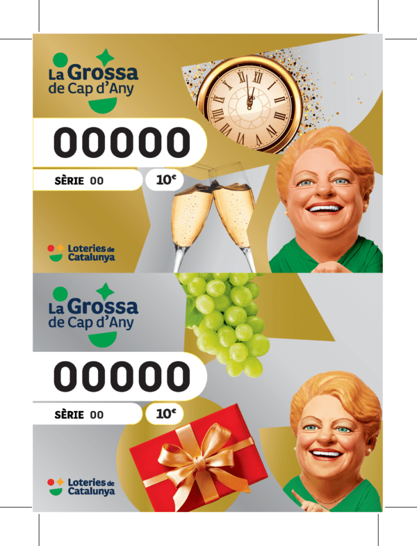 Billetes de la Grossa de Cap D'any 2020